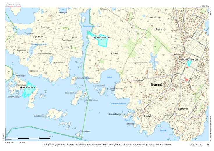 Tim Borg Göteborg Brännö 3:64 karta